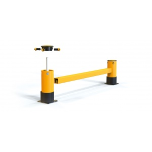 Защитные ограждения для торцов стеллажей A-SAFE eFlex Single RackEnd Barrier