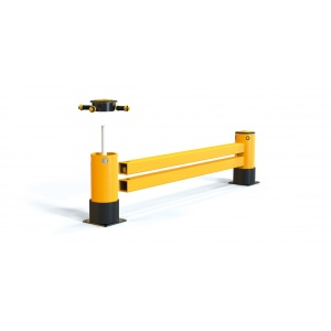 Защитные ограждения для торцов стеллажей A-SAFE eFlex Double RackEnd Barrier